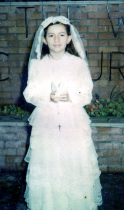 Mayra's First Communion
